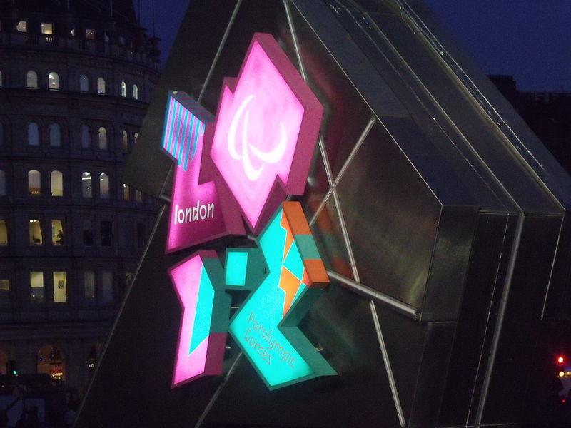 London 2012 font