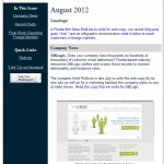 RedLine's August newsletter: SiftLogic, the London 2012 font, and reaching foreign markets