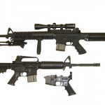 The AR-15, the type of gun used in the Sandy Hook shooting, comes in many sizes and with many options.